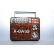 RADIO RECARREGAVEL BIVOLT 3 BANDAS AM / FM / SW / USB / SD 3W COM LANTERNA