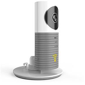 Camera Wifi Ip Sem Fio Celular Com Microfone Filma Noturno