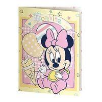 Baby Minnie Amigos Convite Pequeno com 8 - Regina