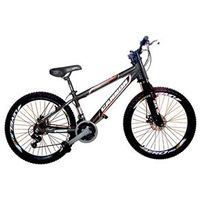 Bicicleta Cannon Aro 26 MTB 21 Marchas Kit Shimano Yamada Freio a Disco - Avalanche preto