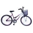 Bicicleta Aro 26 F. Beach Violeta C / Branca Dalannio Bike