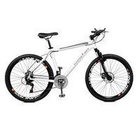 Bicicleta Aro 26 Masculina Volcano F / disco A - 36 21 Marchas Branca - Master Bike - 2629986