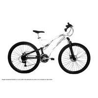 Bicicleta Aro 29 21v Shimano Status Big Evolution Dupla Suspensao branco