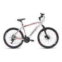 Bicicleta Bikeland Furious Aro 26 Quado Em Alumínio Freio a Disco 21 Marchas Câmbio Shimano Branco branco