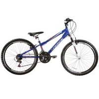 Bicicleta Blaster Suspenção Dianteira 21V Aro 26 Azul Track Bikes azul marinho