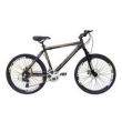 Bicicleta Cannon Aro 26 MTB 24 Marchas Kit Shimano SunRace Rosca Freio a Disco - XTR preto
