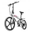 Bicicleta Dobrável Pliage Two Dogs Alloy Branca