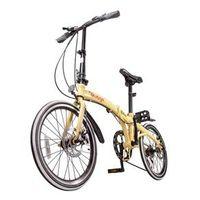 Bicicleta Dobrável Pliage Two Dogs bege médio