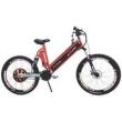Bicicleta Elétrica 800W Aro 26 Full Suspention Extreme vermelho