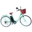 Bicicleta Eletrica Pegasus - Marcha Shimano 6 Vel. - Green verde