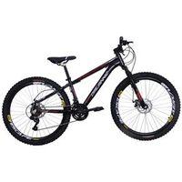 Bicicleta Freeride Aro 26 Aluminio Duplo Freio a Disco Preta preto