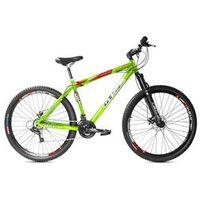 Bicicleta GTSM1 Advanced 1.0 aro 29 freio a disco 21 marchas Verde Kawasaki - Tamanho 21