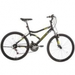 Bicicleta Houston Aro 26 Netuno 2.6 21 Marchas, Preta