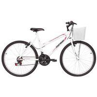 Bicicleta Mormaii Aro 26` Fantasy 21V C / Cesta Branca - 2011825