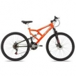 Bicicleta Mormaii Aro 29 Full Susp Big Rider Disk Brake 21V - 2011951 laranja