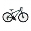 Bicicleta Rino Atacama Câmbios Shimano Aro 29 Freio A Disco 21V - PRETA / VERMELHA - QUADRO 17
