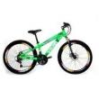 Bicicleta VikingX TUFF Freeride Aro 26 Freio a Disco 21 Velocidades Cambios Shimano Verde Neon Viking