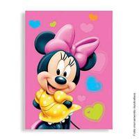 Convite Pequeno Minnie Coração