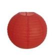 Enfeite Lanterna Japonesa Redondo Vermelho Cromus