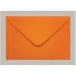 Envelope160x235 Convite Laranja Cartagena 100 Unidades Scrity