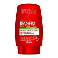 Forever Liss - Banho de Verniz Morango Leave - in - 150g
