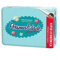 Fralda Personalidade Baby Plus Hiper EXG - 54 Unidades