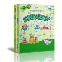 Fralda Petty Baby - Mega Pacotão M - 52 Unidades