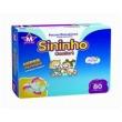 Fralda Sininho Confort Hiper Pacotão M - 320 Unidades + Toalhinha Umedecida Personalidade 50 unidades
