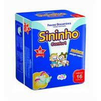 Fralda Sininho Confort Prática EXG - 16 Unidades