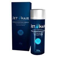 Jet Hair Maquiagem para Cabelos - Disfarce para a Calvície Castanho Claro