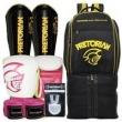Kit Boxe Pretorian 12Oz + Protetor Canela + Mochila Maxi Top