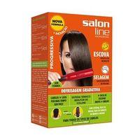 Kit Defrisagem Gradativa Todos Os Tipos De Cabelo Salon Line 188Ml
