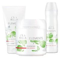 Kit Shampoo + Condicionador + Máscara Wella Professionals Elements Renewing