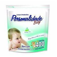 Lenço Umedecido Personalidade Refil Balde 400 Unidades - 1 Pacote