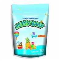 Lenço Umedecido Petty Baby Refil Pote 70 Unidades - 1 Pacote