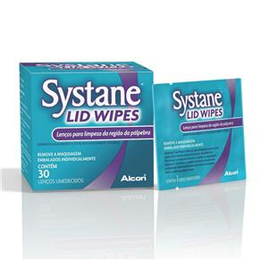 Lenços Systane Lid Wipes Alcon 30 Unidades