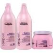 Loreal Expert Lumino Contrast Duo Kit Shampoo ( 1500ml ) , Condicionador ( 1500ml ) e Máscara de Tratamento ( 500ml )