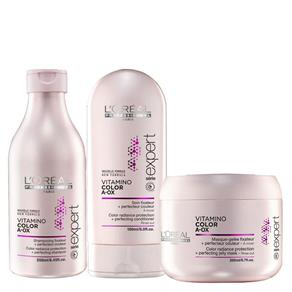 Loreal Vitamino Color Kit Home - Shampoo, Condicionador E Máscara