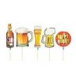 Palito Espetinhos Cerveja 10 Unidades