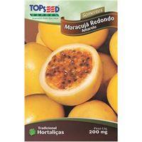 Sementes De Maracujá Redondo Amarelo - Topseed