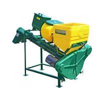 Tratador de sementes Tecnotrat M60 - 1 caixa para líquidos e 1 caixa metálica para produtos turfosos - CIMISA - TSCM601