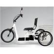 Triciclo Elétrico Confort 800W Aro 20 Freio a Disco branco