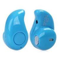 Mini Fone De Ouvido Fio Bluetooth Micro Menor Azul