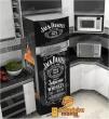 Adesivo Envelopamento de Geladeira Jack Daniel - Cabine Londres - Kombi - Heineken - Brahma