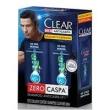 Kit Clear Shampoo Anticaspa 2 em 1 Ice Cool Menthol 200ml 2 Unidades