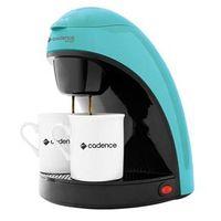 Cafeteira Single Colors Cadence CAF113 Prepara 2 Cafés, com Filtro Permanente e Removível 450W - Azul 220V