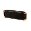 Alto - falantes - Caixinhas de Som - laranja - Tinsan rádio FM estéreo pequeno outdoor Bluetooth mini cartão viva - voz sem fio