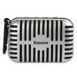 Alto - falantes - Caixinhas de Som - prata - microfone de cartão portátil de áudio Bluetooth Mini outdoor jogador do computado