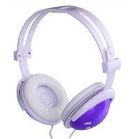 Fone - AH803 - end fone de ouvido de música de computador fone de ouvido de telefone roxo dos auriculares