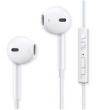 Fone com Microfone - Ka Fei Yue Cafele branco fone de ouvido de Telefone Android com Microfone Universal Edition